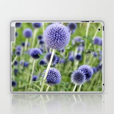BLUE FLOWERHEADS - Botanical Garden Laptop & iPad Skin