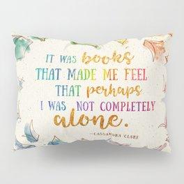 It was books Pillow Sham