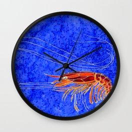 Prawn Wall Clock