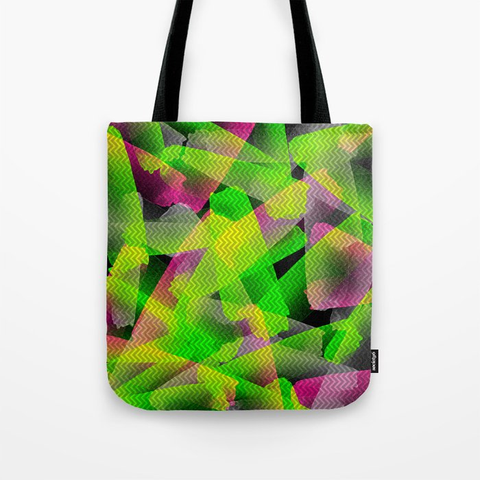 I Don't Do Normal - Abstract Print Tote Bag