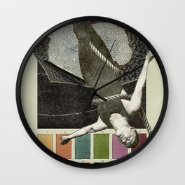 Lichen Colour Charts to the Stars Wall Clock