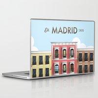 madrid Laptop & iPad Skins featuring Madrid by Sara Enriquez