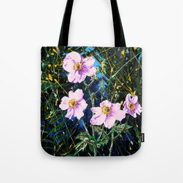 Flowers In My Father's Yard Remixed Tote Bag