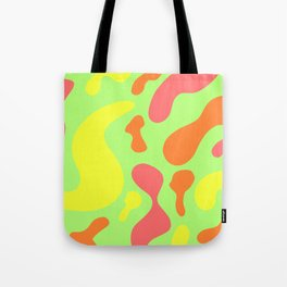 bright sunny abstract pattern decor design Tote Bag