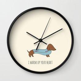 DACHSHUND Wall Clock