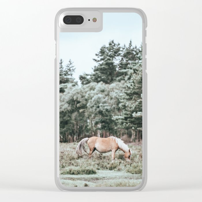 Wild Horse Clear iPhone Case
