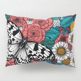Paper kite garden Pillow Sham