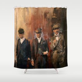 Shelby brothers Shower Curtain