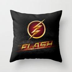 The Flash Inside Throw Pillow