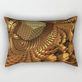 Gold Mine Rectangular Pillow
