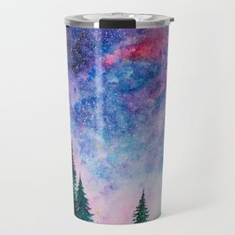 Forest in space Travel Mug