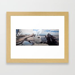 Hunting Island Framed Art Print