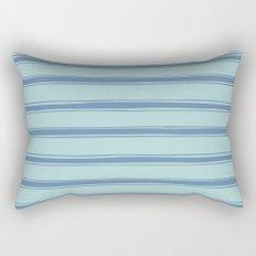 Cobalt blue french striped Rectangular Pillow
