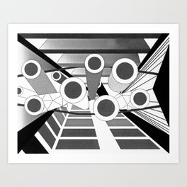The Commons Art Print