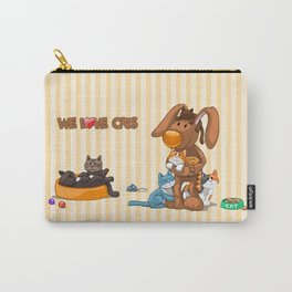 Rabbit catlover Carry-All Pouch