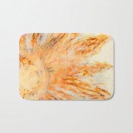 Shine Art Piece Sun Print Sunflower Home Decor Bath Mat