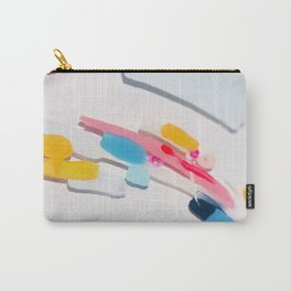 Even After All  #3 - Abstract on perspex by Jen Sievers Carry-All Pouch