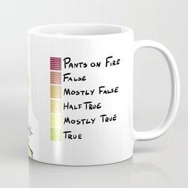 Donald Trump's Lies Coffee Mug