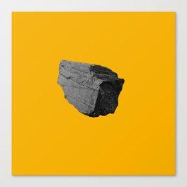 Yellow Boulder Canvas Print