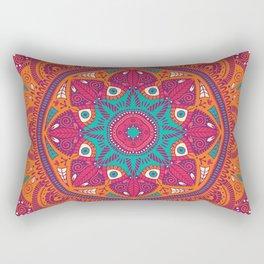 Colorful Mandala Pattern 017 Rectangular Pillow