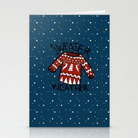 sweater Stationery Cards featuring Sweater by Mr and Mrs Quirynen
