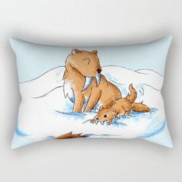 Practice Hunt Rectangular Pillow