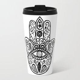The hamsa hand Travel Mug