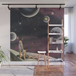 Beyond our world Wall Mural