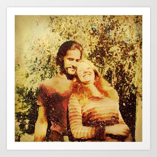 THE 70'S Art Print