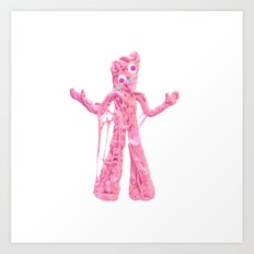 Bubble Gumby Art Print