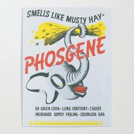 Vintage poster - Phosgene Poster