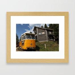 Vintage Train Framed Art Print