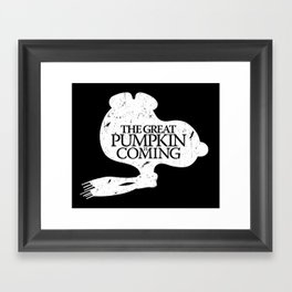 Game of Peanuts Framed Art Print