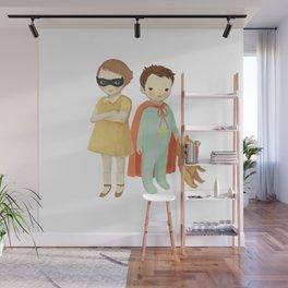 Superhero Kids by Emily Winfield Martin Wall Mural