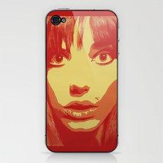 Jane Birkin iPhone & iPod Skin