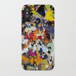 Palette. In the original sense of the word. iPhone Case