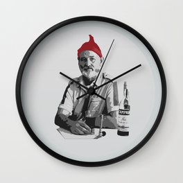 The Life Aquatic Wall Clock