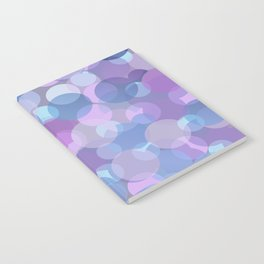 Pastel Pink and Blue Balls Notebook