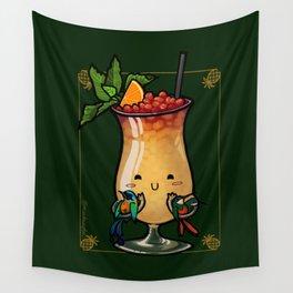 Food Series - Trinidad Cobbler Wall Tapestry
