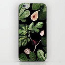 Figs Black iPhone Skin