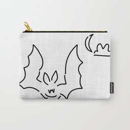 bat flughund at night moon Carry-All Pouch