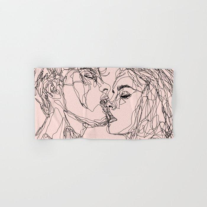 kiss more often Hand & Bath Towel