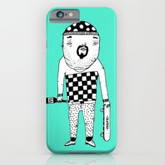 Skater with wine. Slim Case iPhone 6s