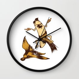 Adulting Dick Ass Sex Intercourse Design T-shirt Banana Adult Humor Censored Fruit Naughty Wall Clock