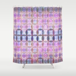 Pink Jewelbox Shower Curtain