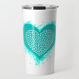 Cat Love Travel Mug