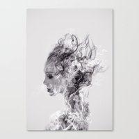 Canvas Prints featuring In Another World by Daniel Taylor