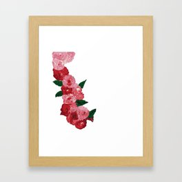 Flowers in the midst of summer Framed Art Print