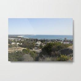 Coastal Town Metal Print