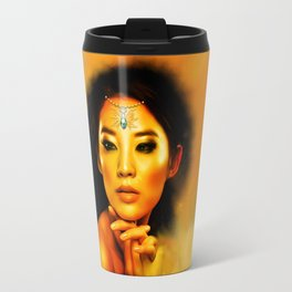 Green Eyed Beauty Travel Mug